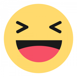 Reakcje Ha ha pod post z Polski Facebook